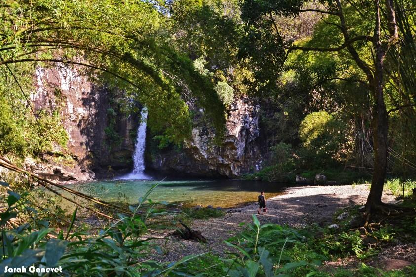 Cascade Pichon, Ile de la Reunion