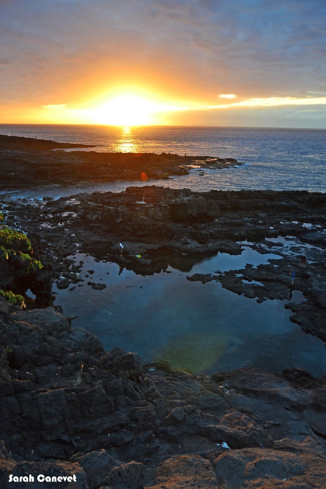 Coucher de soleil - Cap Lahoussaye