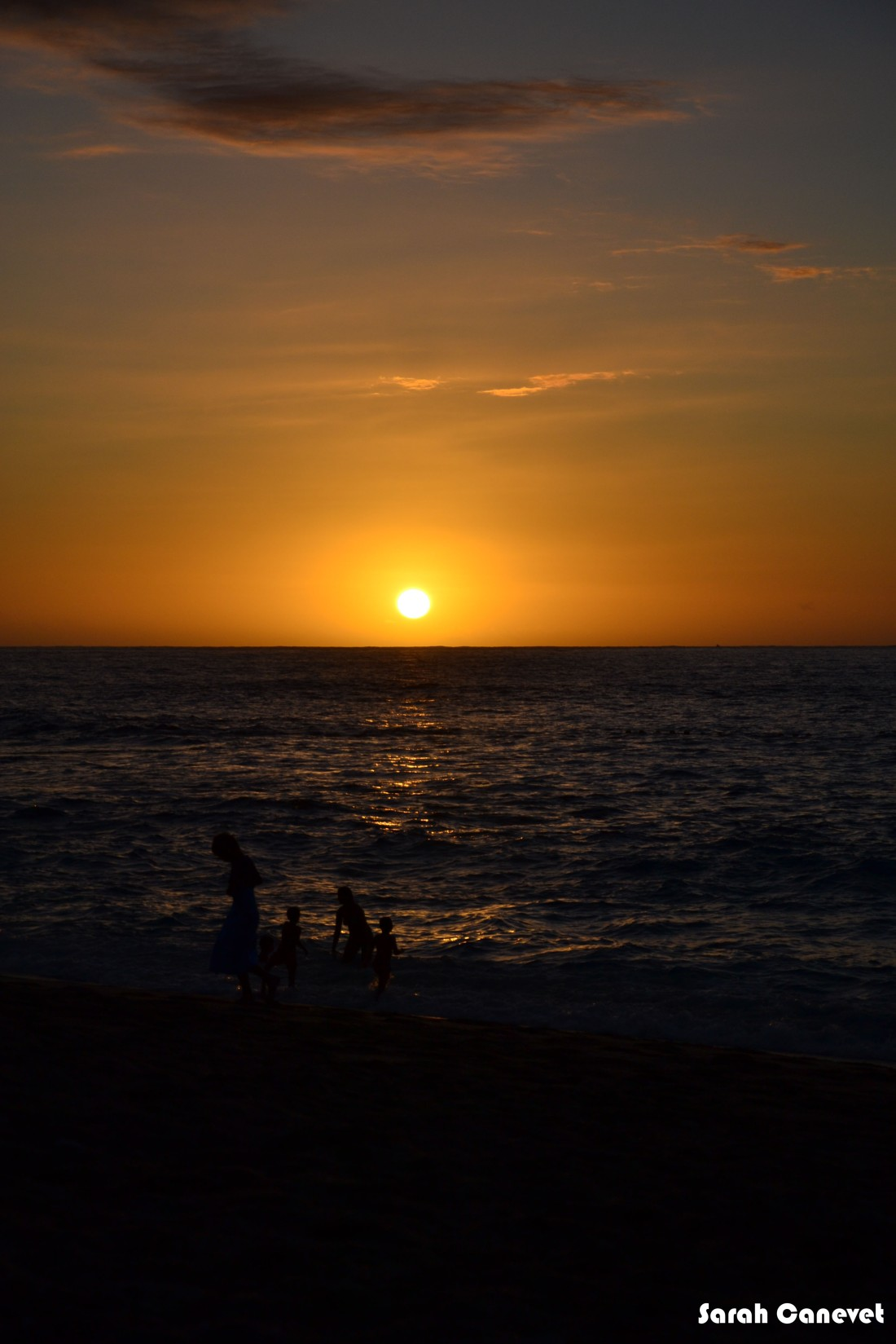 Coucher de soleil - Boucan Canot