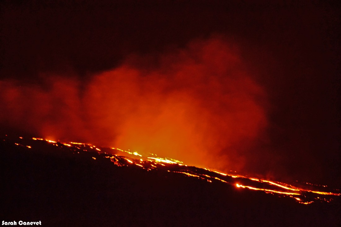 Eruption Piton de la Fournaise Aout 2015